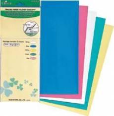 Farbiges Pauspapier