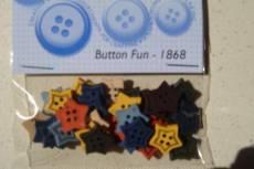 Knöpfe - Button fun Stars
