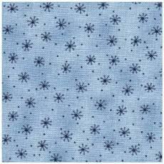 Quilters Basic Sterne hellblau