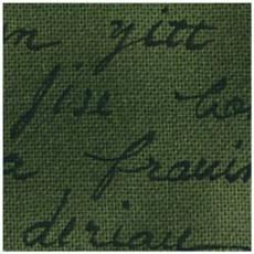 Quilters Basic Schrift auf oliv