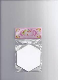 Hexagon Schablonen 1  inch