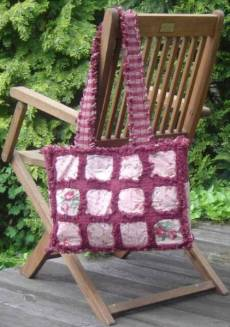 Anleitung Tasche Country rose