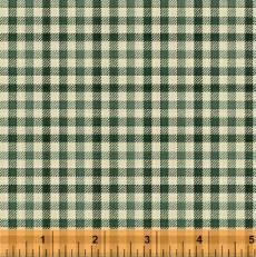 Flannel Elements checker green