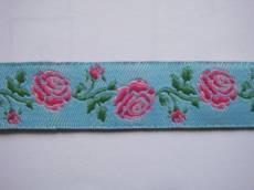 Webband Rosegarden blau