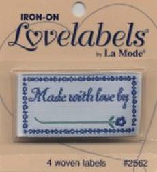 Love labels - Made with love by..
