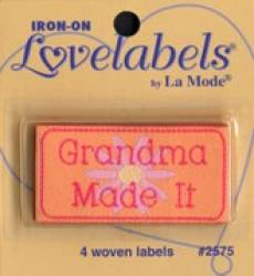 Love labels - Grandma made it
