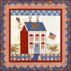Shabby Fabrics Little Garden House in Summer