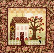 Shabby Fabrics Little Garden House in Autumn