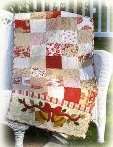 Shabby Fabrics Christmas bells are ringing