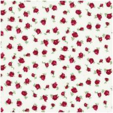 Quilters Basic Rose auf weiss