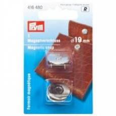 Magnet Verschluss antikmessing