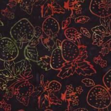 Batik Fruit veggies black