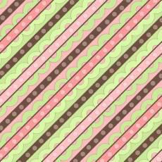 Life is tweet Diagonal stripe