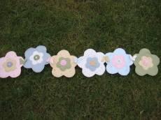 Tischläufer Flower garden