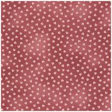 Quilters Basic Dusty Herzchen rosa