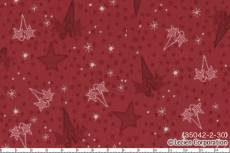 Candy Cane hearts and stars red