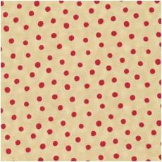 Merry christmas dots nature red