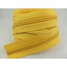 Endlosreißverschluß 5 mm gelb