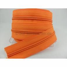 Endlosreißverschluß 5 mm orange