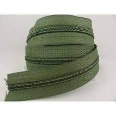Endlosreißverschluß 5 mm olivgrün