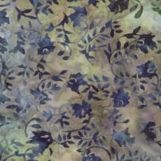 Woodland summer batik swirls pear
