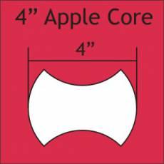 Applecore Schablonen 4 inch
