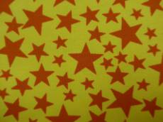 Jersey yellow orange stars
