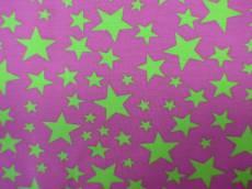 Jersey pink green stars