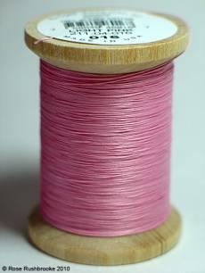 YLI Handquiltgarn light pink