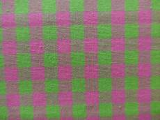 Karo pink grün