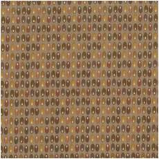 Quilters Basic dots multi brown