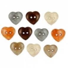 Knöpfe - Cultured Hearts