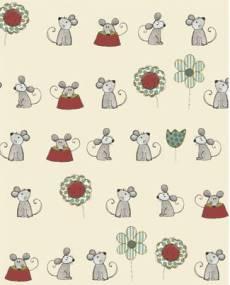 Josie und Theo mouse red