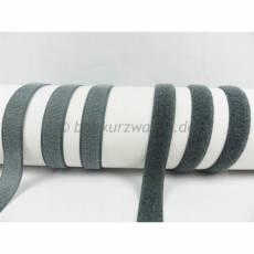 Klettband grau
