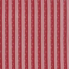 Mistletoe Lane stripe red