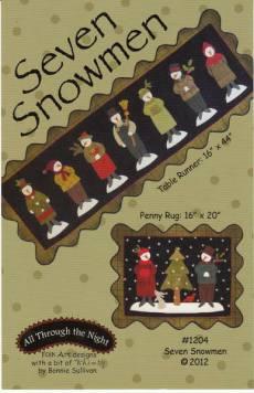 Anleitung Seven Snowmen