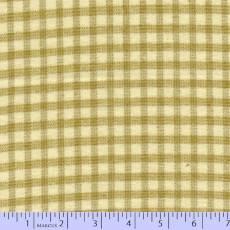 Primo plaid flannel checker ecru tan