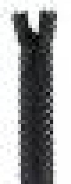 Spitzenreißverschluss 20 cm anthrazit