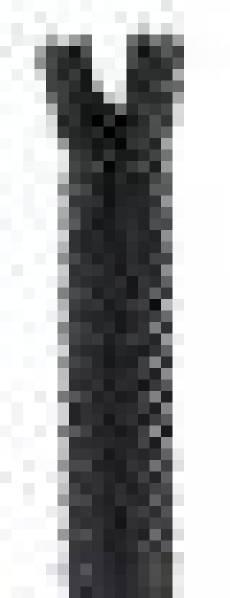 Spitzenreißverschluss 40 cm anthrazit