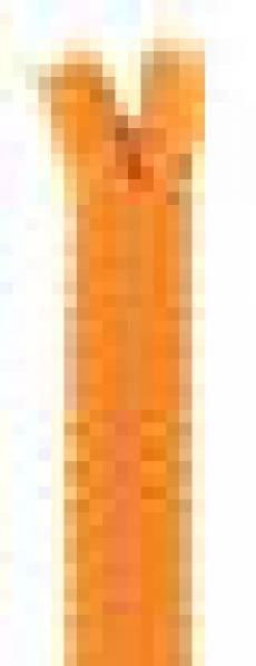 Spitzenreißverschluss 40 cm sonnengelb