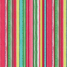 Christmas festive stripe