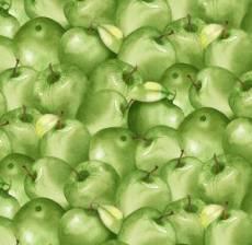 The harvest apple green