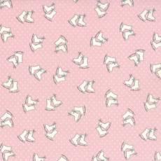 Mistletoe Lane skate pink
