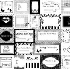 Small Talk labels