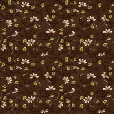 La vie est belle brown fleur 2