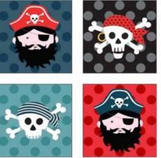 Pirates labels