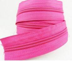Endlosreißverschluß 5 mm pink