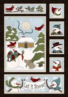 Winter Folk Flannel