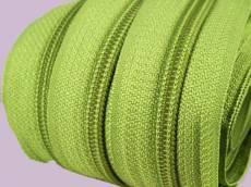 Endlosreißverschluß 5 mm apfelgrün