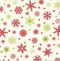 Purely Christmas cristall green red white
